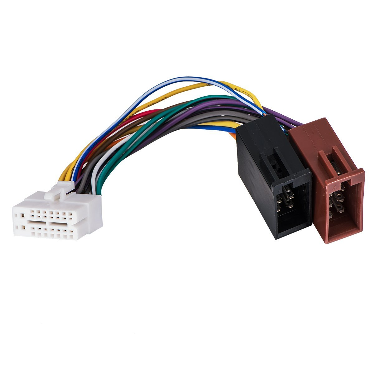 hight resolution of get quotations clarion 16pin stereo radio iso wiring wire harness skcl16 21 iso car audio parts
