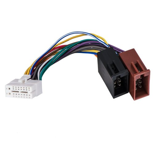 small resolution of get quotations clarion 16pin stereo radio iso wiring wire harness skcl16 21 iso car audio parts