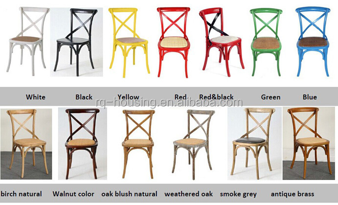 cross back dining chairs white really cool home cafe chair rental plastic wedding for