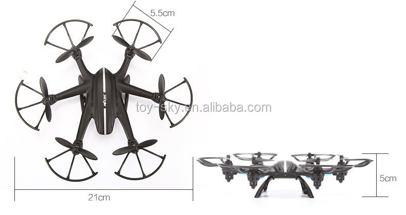 Mjx X800 2.4g Rc Quadcopter Drone Rc Helicopter 6-axis Can