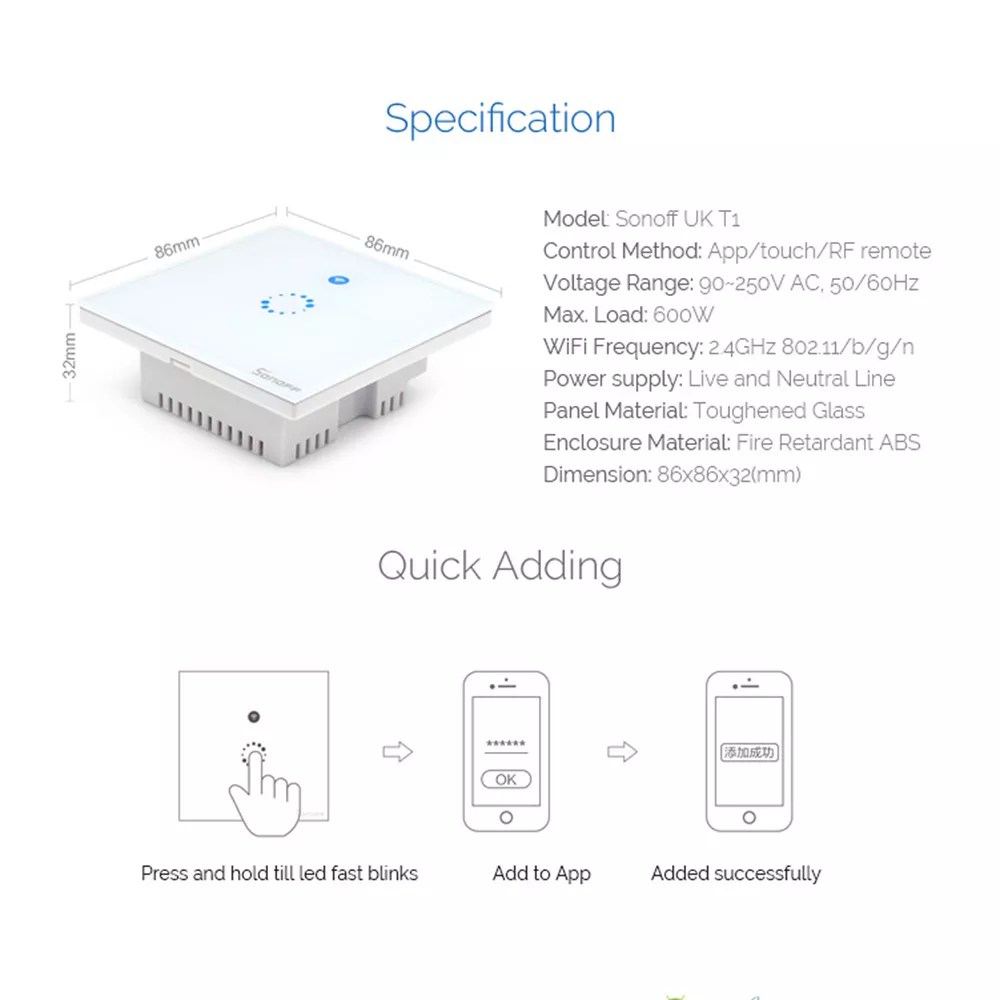 hight resolution of wireless t1 diagram wiring diagram centre sonoff t1 wireless 1 2 3 gang smart home rf