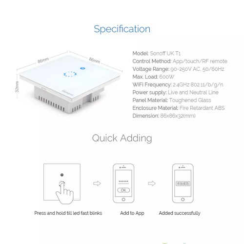 small resolution of wireless t1 diagram wiring diagram centre sonoff t1 wireless 1 2 3 gang smart home rf