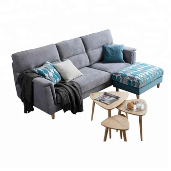 grey fabric sofa uk ikea manstad bed manual style 3 seat with removable stool buy
