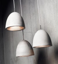Modern Industrial Concrete Light Decorative Home Hanging ...
