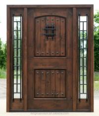 Wood Wrought Iron Door,Used Exterior Wood Door,Front Iron ...