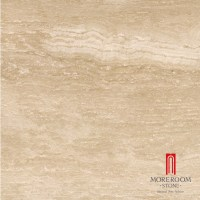 Glazed Imitation Beige Color Travertine Tile Marble Tile