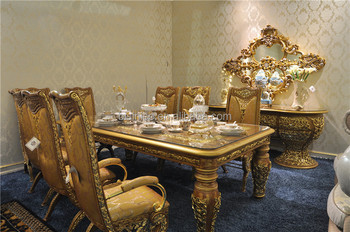 Italian Glass Top Dining Tables And Chairs SetAntique