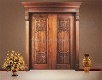 Luxury 48 Inch Wooden Double Door Designs For Indian Homes
