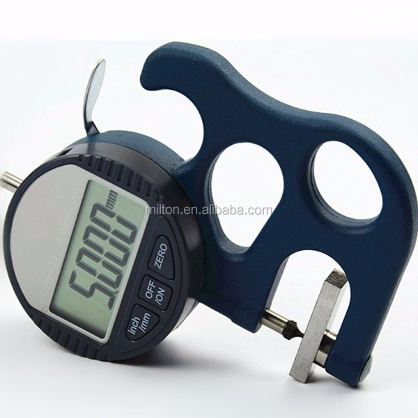 Point Measure Face Micron Digital Thickness Gauge Tester