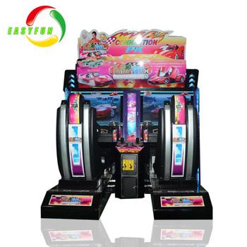 factory outrun arcade game
