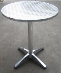 Stainless Steel Round Coffee Table - Arnhistoria.com