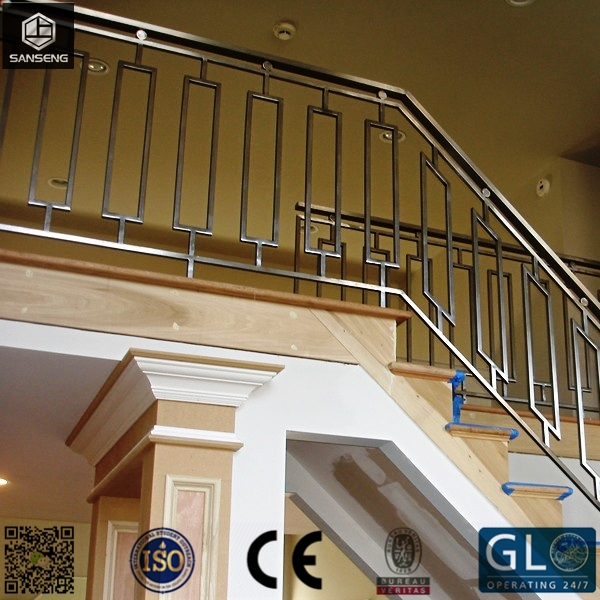 Interior Durable 304 316 Stainless Steel Ramp Stair Handrail | Metal Handrails For Indoor Stairs | Baluster | Indoor Outdoor | Staircase Remodel | Stainless Steel | Stair Treads