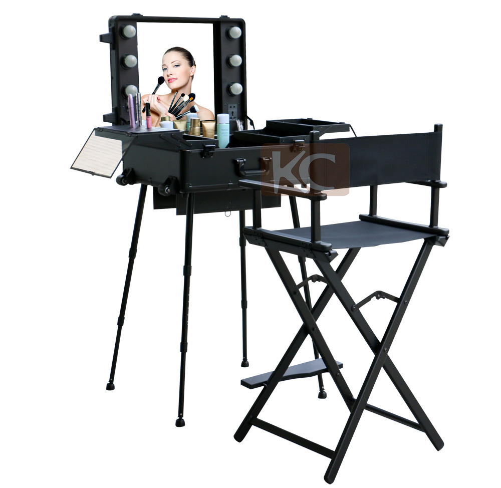 Portable Salon Chair Make Up ChairSalon Styling Chair