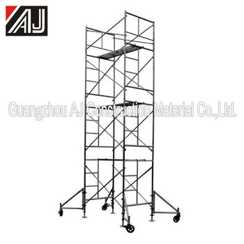 Painted| Galvanized| Powder Coated Steel Scaffolding