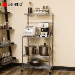 Kitchen Utensil Rack Cabinets Charleston Sc Diy Chrome Metal Stand Buy