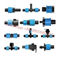Irrigation Plastic Fittings Drip Tape Valve For Lay Flat ...