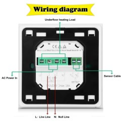 Underfloor Heating Wiring Diagram Controls Two Way Switch Connection Controller Thermostat System Manual Water Thermosta Solar