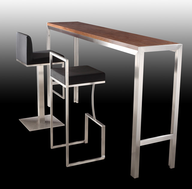 Long Bar Table/tall Bar Table And Chairs