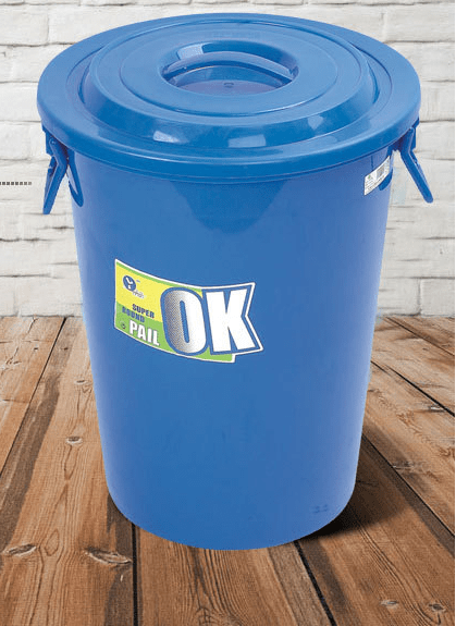 Large 100 Liter Plastic Bucket With Lid  Buy 100 Liter