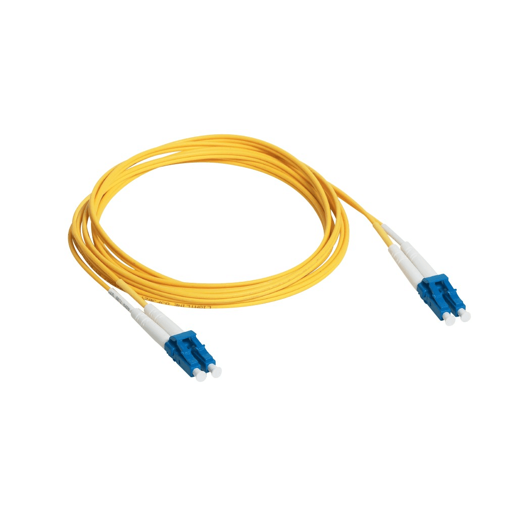 medium resolution of lc lc yellow jacket fiber optic patch cord color code