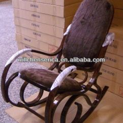 Bent Wood Rocking Chair Where Can I Buy Covers Velvet Fabric