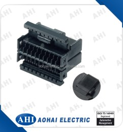 174044 2 old 8 pin wire harness connector female black plastic auto connector [ 900 x 900 Pixel ]