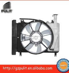 car ac condenser radiator fan for 07 10 yaris 1 5l radiator cooling fan 16711 l1110 16363 28160 16361 21090 16711 21110 [ 1000 x 1000 Pixel ]