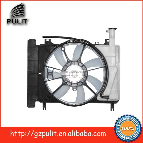 small resolution of car ac condenser radiator fan for 07 10 yaris 1 5l radiator cooling fan 16711 l1110 16363 28160 16361 21090 16711 21110