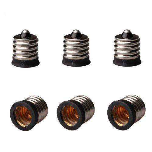 small resolution of get quotations 6 pack e17 to e12 light socket bulb base adapter converter light socket adapter
