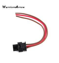 warriorsarrow flat housing connector plug 3 pin wiring harness for vw jetta touareg 2007 2012 for audi a3 q7 2008 2010 3c0973203 [ 1000 x 1000 Pixel ]