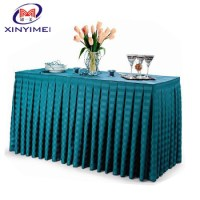 Fashion New Design Elegant Table Skirting For Event - Buy ...