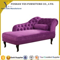 C21 Cheap Price Purple Chaise Lounge Furniture