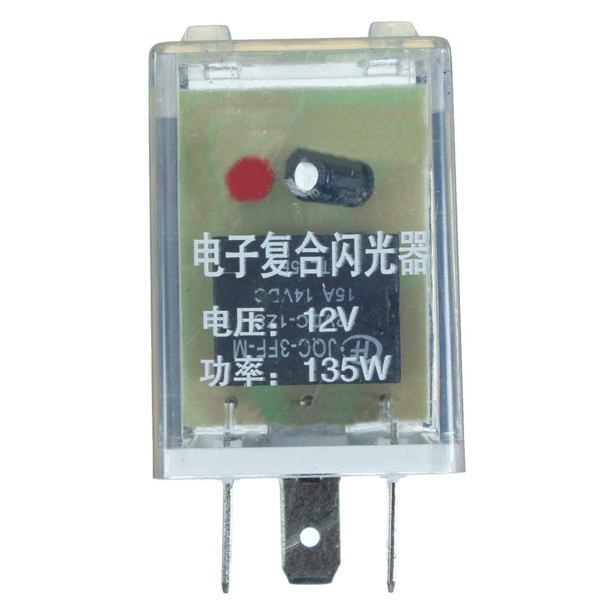 hight resolution of get quotations cococina 12v 3 pin led flasher relay unit for turn signal indicator blinker flash