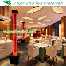 Led Waterfall Acrylic Aquarium Chinese Restaurant