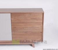 Nd536 Nasida Modern Storage Cabinet Mdf Walnut Sideboard ...