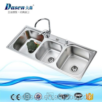 small white kitchen sinks how much does it cost to replace cabinets nexstyle design utility 3 compartment bar sink buy