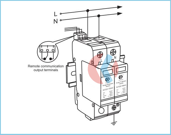 Single-phase Class D 10ka Ac220v Refrigerator Surge