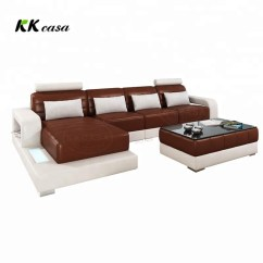 Indian L Shaped Sofa Design Covering Ideas Diwan Small Dimension Adjustable Headrest Type Modern Simple Leather Shape Set In India
