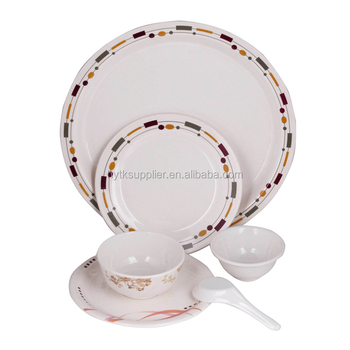 Buy Melamine Dinner Set