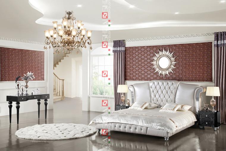 Dubai Lit Chambre Meubles Meubles En Cuir Chambre Literie