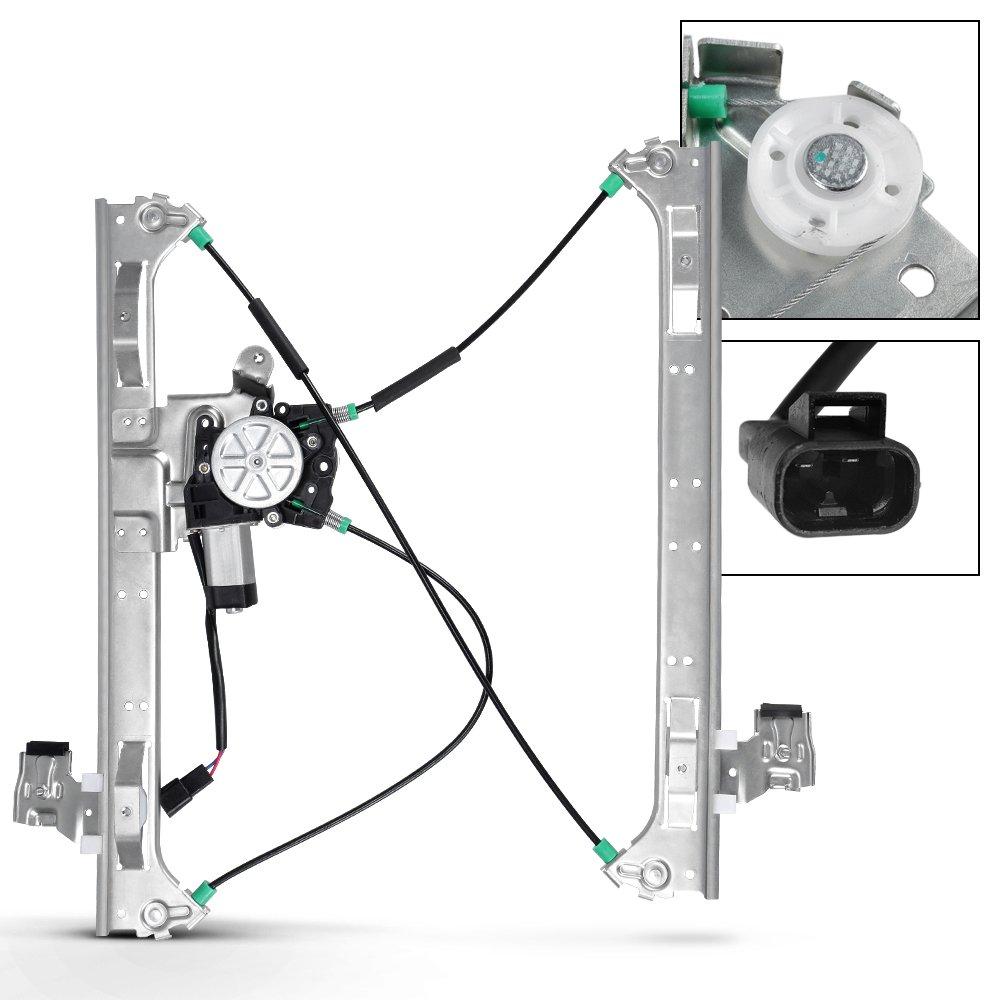 medium resolution of get quotations front passenger right side power window regulator w motor for bravada envoy trailblazer saab 9
