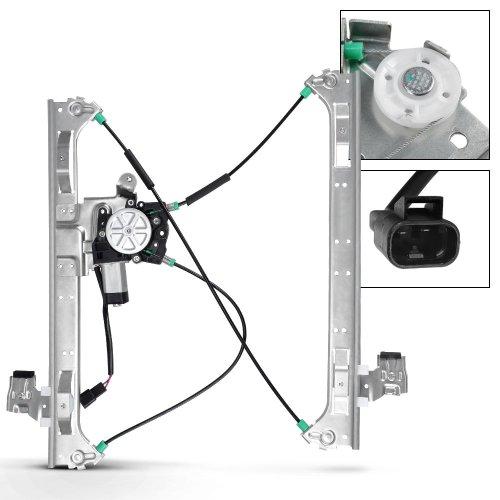 small resolution of get quotations front passenger right side power window regulator w motor for bravada envoy trailblazer saab 9