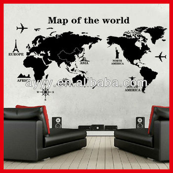 World Map Wall Art Fabulous For Your Designing Home Inspiration With