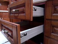 Fashionable Design Contemporary Solid Wood Kitchen Cabinet ...
