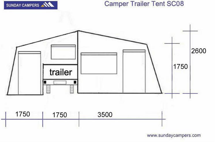 Off road folding camper australian style military camper