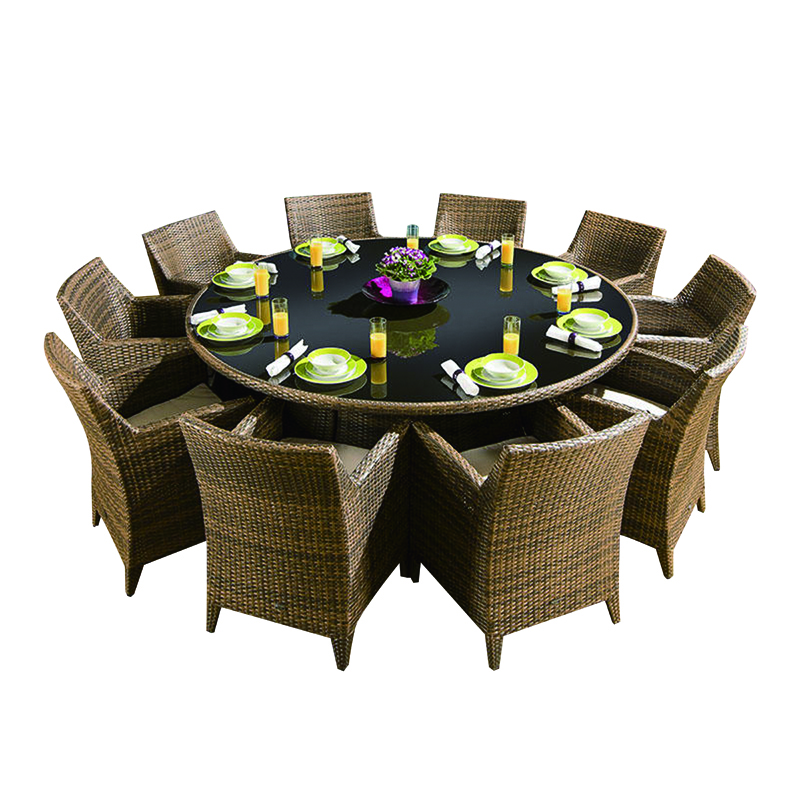 10 Seater With A Round Dining Table Outdoor Dinner Furniture Buy Rattan Garden Chairs And Tables For Wedding Modern 10 Seater Dining Table 10 Seater Dining Table Designs Product On Alibaba Com