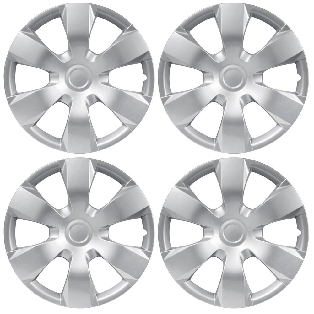 hight resolution of get quotations bdk toyota camry style hubcaps cover 16 inch silver replica wheel hub cap covers