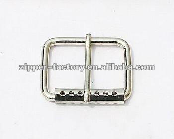 Wholesale Metal Pin Silver Reversible Screw Belt Buckle