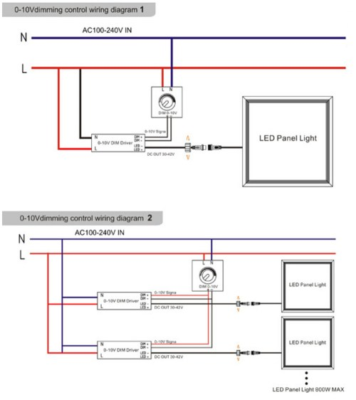 small resolution of led panel wiring diagram