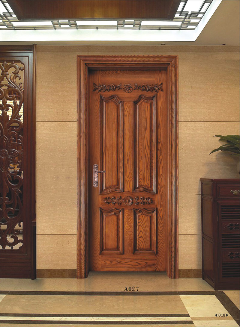 Door Carving & Wooden Door Of Country House With Carved